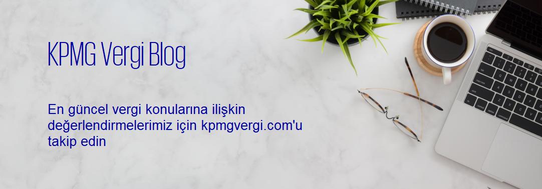 KPMG Vergi Blog