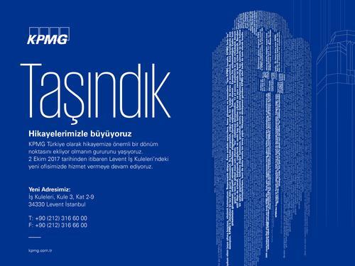 KPMG Türkiye Yeni Adresinde